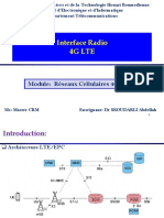 1-Chapitre - 4G LTE  interface Radio