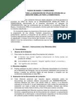 LICITACIÓN PARA LA ADQUISICIÓN DE ÚTILES DE OFICINA DE LA ORGANIZACIÓN SEMILLAS PARA LA DEMOCRACIA