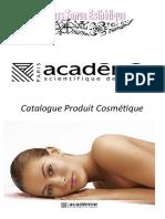 Catalogue Produit Cosmétique