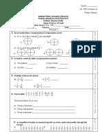 evaluare matematica