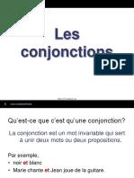 les_conjonctions
