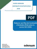 Elaborer_PCA_ISO22301_v5_2