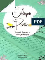 Livro Coloquio Poetico Oficial