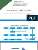 Fluxograma Industria de Papel e Celulose