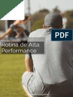 Rotina de Alta Performance - Sociedade Brasileira da Mente