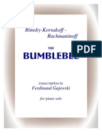 RIMSKYKORSAKOFF RACHMANINOFF  GAJEWSKI The Bumblebee