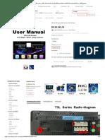 Oknavi t3l Carro Rádio Manual Do Usuário_Reprodutor Multimídia Automotivo_ - AliExpress