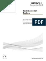 Basic Operation Section
