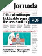 La Jornada (Mexico) [ju., 28 en - calibre