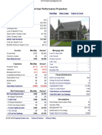 11620 Rossiter - Performance Report