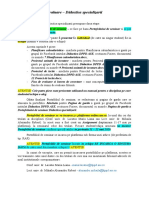 Evaluare Didactica specializarii