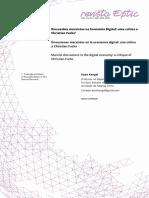 Discussões marxistas na economia digital