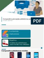 Comparativa principales plataformas para móviles