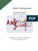 anybody Installation Manual