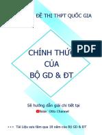 Otto Channel - 31 Đề Thi Chính Thức Của Bộ GD&ĐT