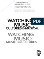 Watching Music Music Video Cultures