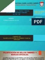 (Art. 434-439) FALSIFICACIÓN DE SELLOS, TIMBRES Y MARCAS OFICIALES-DISPOSICIONES COMUNESppt