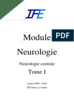 Module de Neuro Tome 1