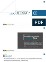 ECCLESIAS 7