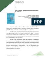 Resenha conceitos fundamentais da pesquisa socioespacial
