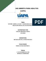 TAREA 10 DE METODOLOGIA DE LA INVESTIGACION II