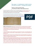 Nomenclator Final (Letra i) Topónimos y Gentilicios Ibéricos
