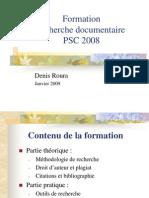 Mthodologie de recherche documentaire