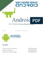 O Sistema Operacional Android