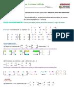 21 Exercícios Matrizes Adição 05112020