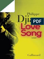 Philippe Djian - Love Song