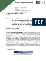 Recurso Reposicion Contra La Resolucion l 0072-2020 - Comfacor