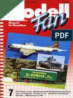 Modell Fan 1987-07