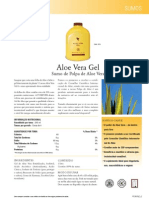Aloe Vera Gel (sumo de polpa)
