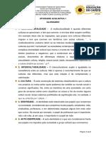 Educação e Interculturalidade_Atividade Avaliativa 1_Isabel Silva