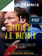 5 Claves de Jan Ove Waldner - Tenis de mesa