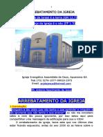 PALESTRA SOBRE ARREBATAMENTO