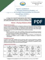 AppelCandidature_Masters