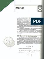 Cap 08 Equaçoes de Maxwell