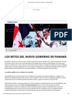 Los Retos Del Nuevo Gobierno de Panama