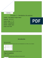 Proyecto 2 menu