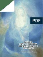 Sussidio Preghiera Santo Rosario