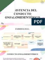 PERSISTENCIA DEL CONDUCTO ONFALOMESENTERICO