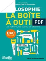 Philosophie - La Boite a Outils - Olivier Dhilly [BIBLIO-SCIENCES.org]