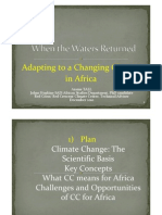 Climate Change & Africa 101
