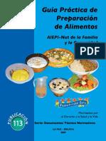 Guía de Alimentos