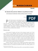 03 - No domínio dos acervos história e as práticas do olhar - 2016 - Knauss