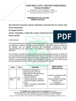 Comunicado 001 IE Tecnica Industria Julio Flórez. (1)