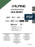 Alpine IXA W407
