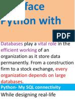 002 Python SQL Interface