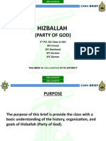 Hizballah COIN Brief (Unclassified)